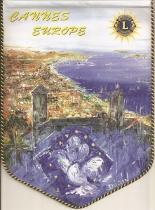 Fanion Club Cannes Europe (2)